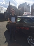 JOSH R passed with Wilkes Driving Tuition