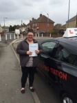 Leanne T passed with Wilkes Driving Tuition
