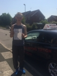 CALLUM D passed with Wilkes Driving Tuition