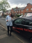 S J Burton passed with Wilkes Driving Tuition