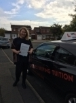 CHARLEACE passed with Wilkes Driving Tuition