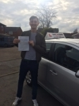 JACK M passed with Wilkes Driving Tuition