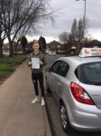 AIDEN T passed with Wilkes Driving Tuition