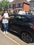 KATIE L passed with Wilkes Driving Tuition