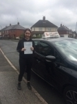 JODIE P passed with Wilkes Driving Tuition