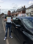 RAY F passed with Wilkes Driving Tuition