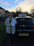TONI J TINSLEY passed with Wilkes Driving Tuition