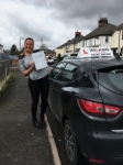 Tammie S passed with Wilkes Driving Tuition