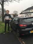 ZACK Y passed with Wilkes Driving Tuition