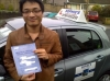 Shenqiu passed with Sophie's School of Motoring