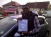 Olu passed with Sophie's School of Motoring