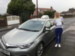 Amy M passed with Sophie's School of Motoring