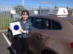 Annick passed with Sophie's School of Motoring
