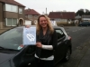 Carolina passed with Sophie's School of Motoring