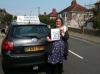 Carrie passed with Sophie's School of Motoring