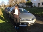 charlene T passed with Sophie's School of Motoring