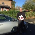 Darren passed with Sophie's School of Motoring