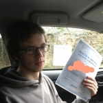 dom WALSH passed with Sophie's School of Motoring