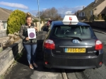 Emma.  passed with Sophie's School of Motoring