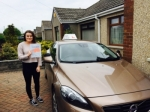 Erin passed with Sophie's School of Motoring