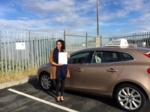 Fatima passed with Sophie's School of Motoring