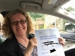 Helen passed with Sophie's School of Motoring