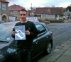 James. passed with Sophie's School of Motoring