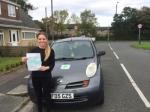 Jasmine passed with Sophie's School of Motoring