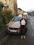 Martha U passed with Sophie's School of Motoring