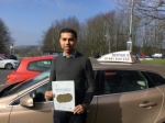 Masud passed with Sophie's School of Motoring