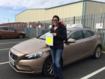 Seena passed with Sophie's School of Motoring