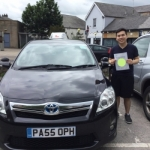 Tak passed with Sophie's School of Motoring