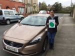 Xiaoqing passed with Sophie's School of Motoring