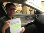 Adrian passed with Sophie's School of Motoring