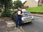 Dan passed with Sophie's School of Motoring