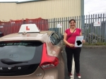 Delphine passed with Sophie's School of Motoring