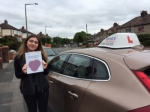 Eleanor passed with Sophie's School of Motoring
