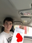 George passed with Sophie's School of Motoring