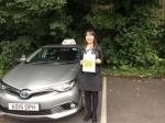 Giang passed with Sophie's School of Motoring