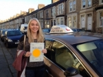 Jess passed with Sophie's School of Motoring