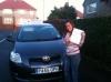 Joeann passed with Sophie's School of Motoring