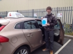 lewis passed with Sophie's School of Motoring