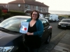 lizzie passed with Sophie's School of Motoring