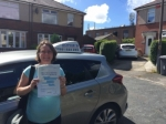 Marcie passed with Sophie's School of Motoring