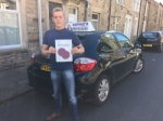 Matthew passed with Sophie's School of Motoring