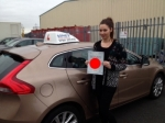 Rachael passed with Sophie's School of Motoring
