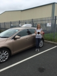 Rebecca passed with Sophie's School of Motoring