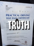 S.V. passed with Sophie's School of Motoring