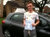 Scott passed with Sophie's School of Motoring