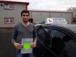 Sergei passed with Sophie's School of Motoring